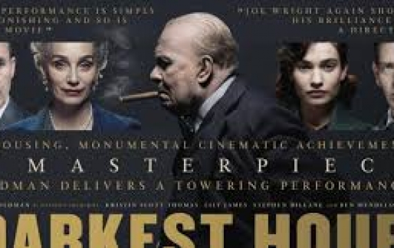 Paxton Pictures Presents.....Darkest Hour at Little Paxton Church (Tuesday 24th Sept at 2pm)